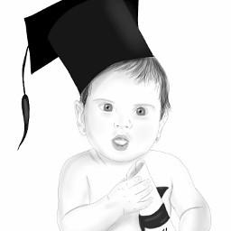 wdpsketchportrait freetoedit sketch baby congratulation