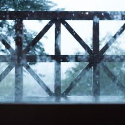 typhoon japan rain window raindrop