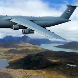 greenland travel plane