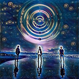 freetoedit galaxy star midnight