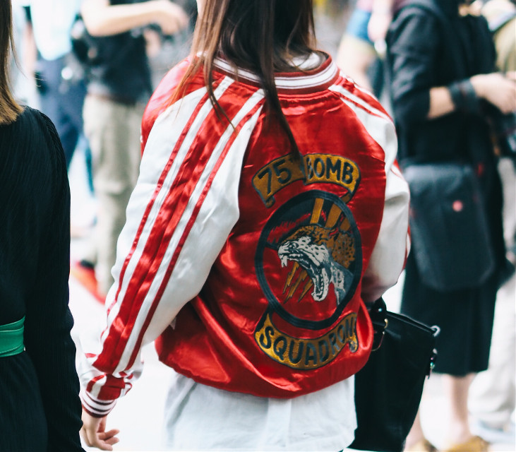 #shanghai #fashionweek #photography #people #style #streetstyle #fashion #bomberjacket