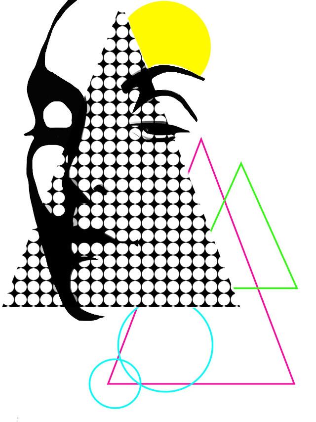 Pop #popart #abstract #selfie #people #picsart #drawing