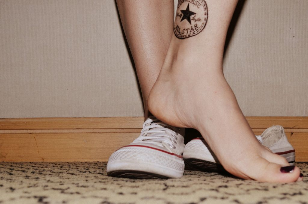 #brincando #pés #allstar