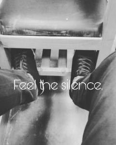 blackandwhite silence gray freetoedit