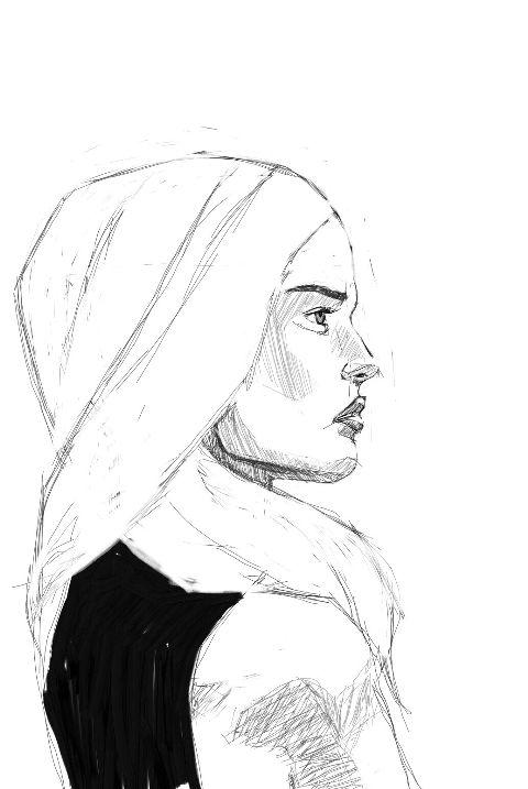 sketch drawing wip