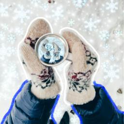 freetoedit snowing snow coffeeart coffeeaddict